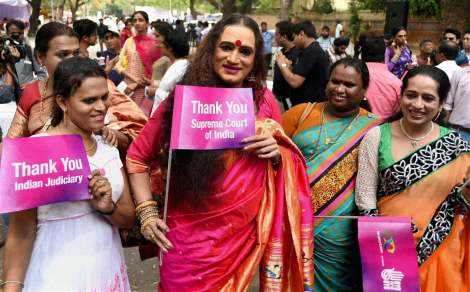 Laxmi Narayan Tripathi at an event